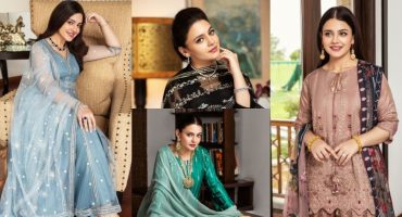 Nishat Linen's Latest Luxury Collection Featuring Zara Noor Abbas
