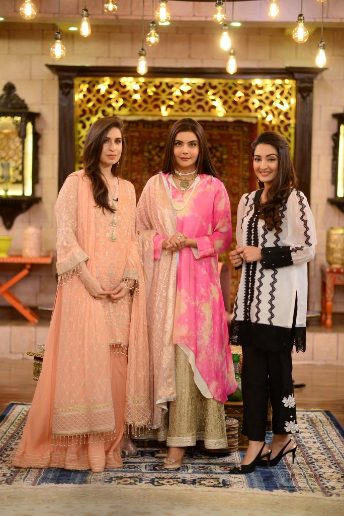 Haroon Shahid And Shafaat Ali With Their Wives At Shan-e-Suhoor