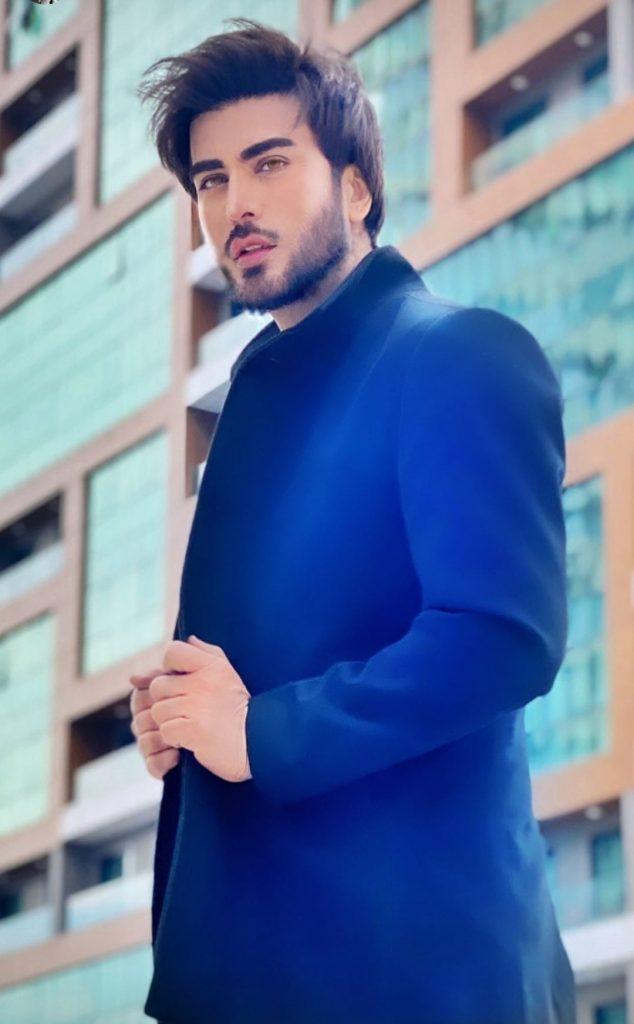 Imran Abbas Spotted With Ertugrul Famed Burcin Abdullah