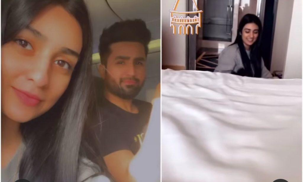 Falak Shabir And Sarah Khan Stuck In Istanbul