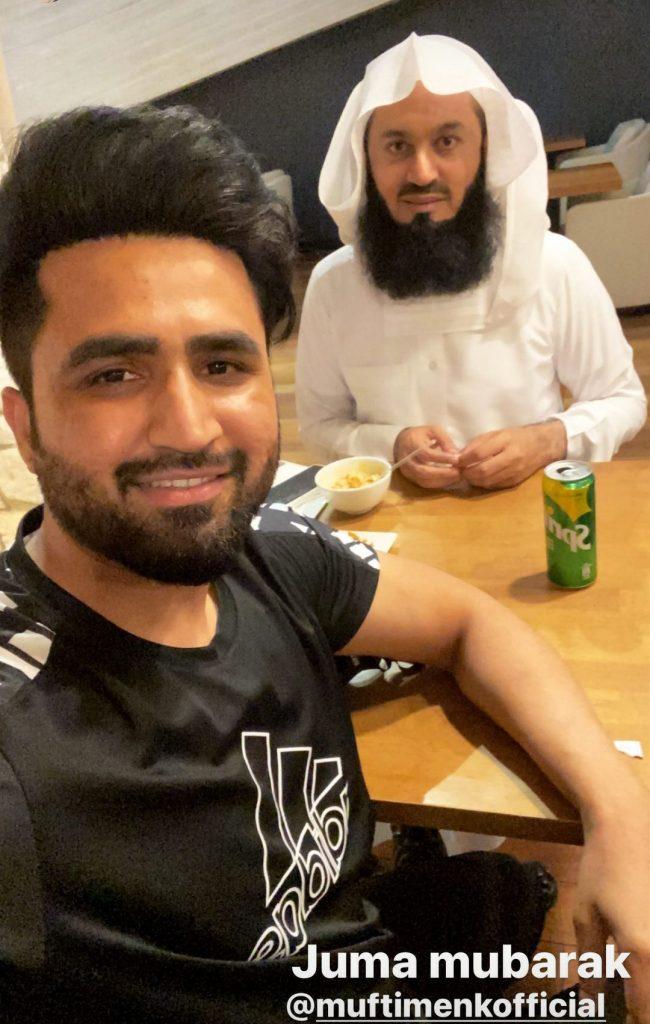 Falak Shabir Shares His Fan Moment
