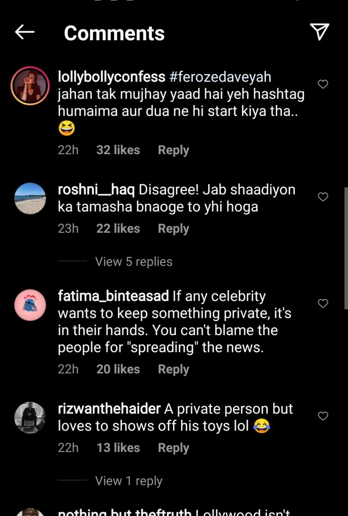 Feroze Khan Talked About His Private Life and Netizens Got No Chill