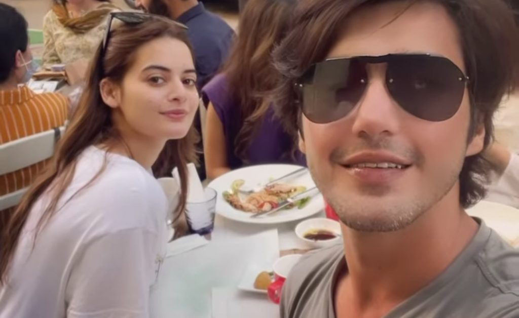 Love Birds Minal Khan and Ahsan Mohsin Ikram Brunching Together