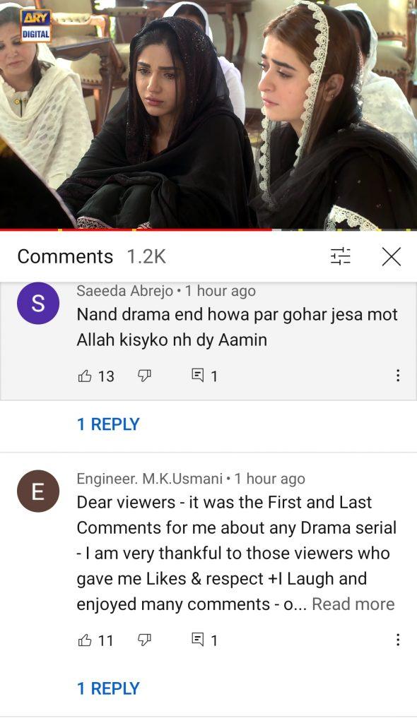 Drama Nand Last Episode - Public Reaction