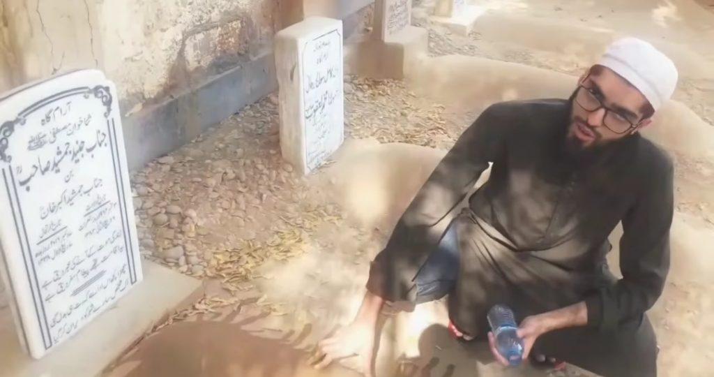 Babur Jamshed 's Dream About Father - Visited Junaid Jamshed Grave