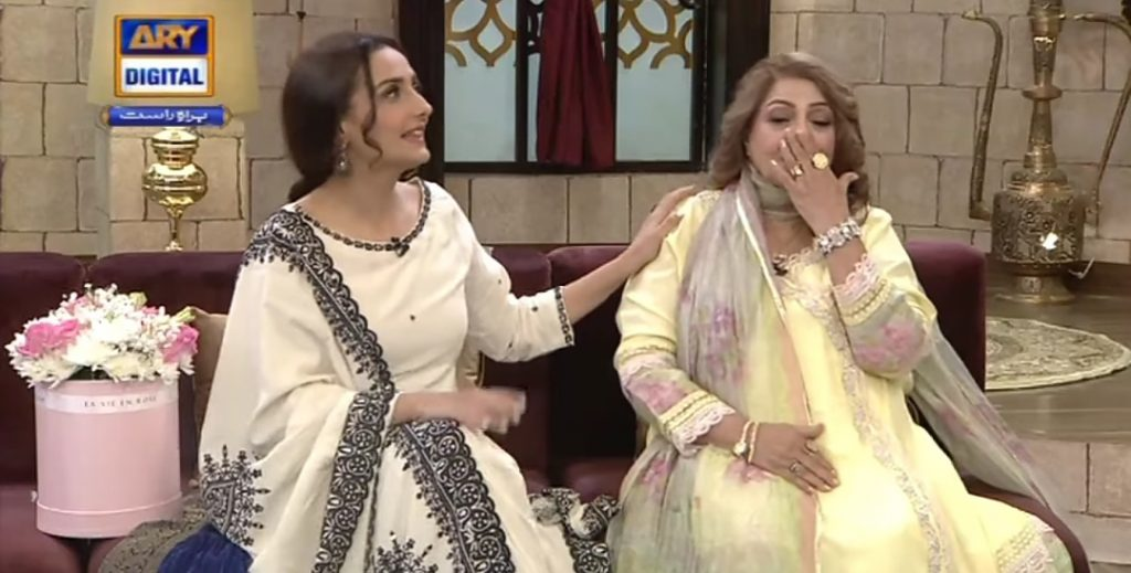 Momal Sheikh's Mother & Sonya Hussyn Got Emotional In GMP Shan-e-Suhoor