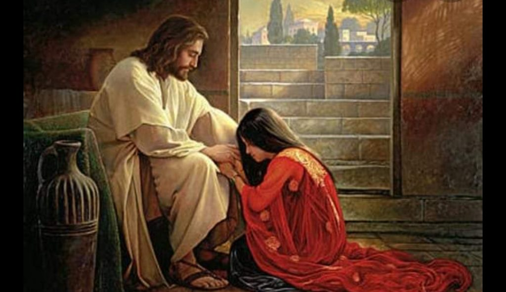 The Poster of Raqs e Bismil Is Copy of Mary Magdalene and Jesus Painting