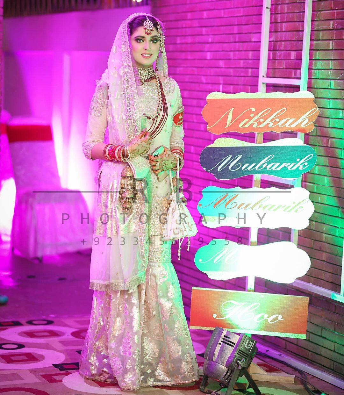 Kanwal Aftab and Zulqernain Sikander Wedding Photo Shoot