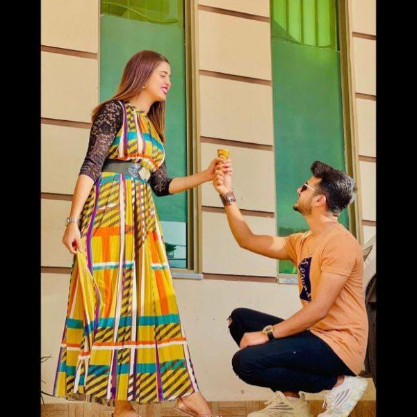 Beautiful Pictures Of Newly Weds Kanwal Aftab And Zulqarnain Sikander