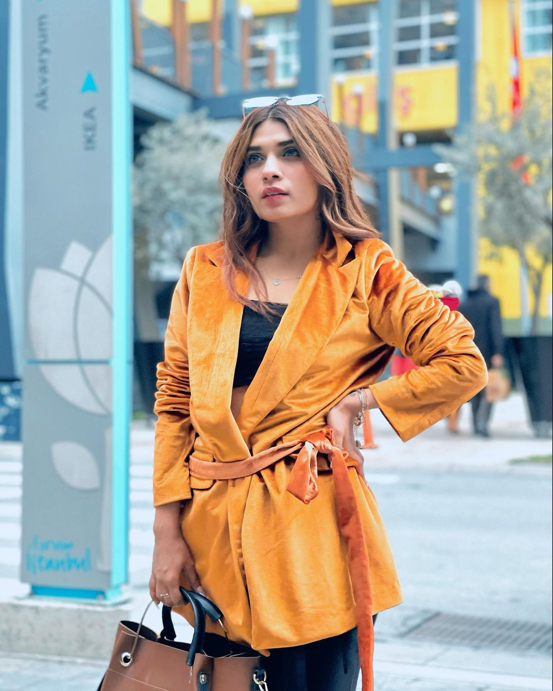 Turkey Vacation Pictures of Actress Mahi Baloch