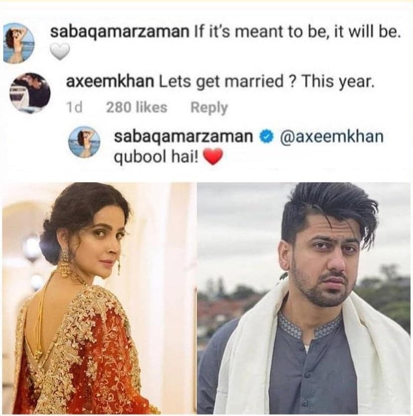 Was Saba Qamar's Break-Up A Publicity Stunt