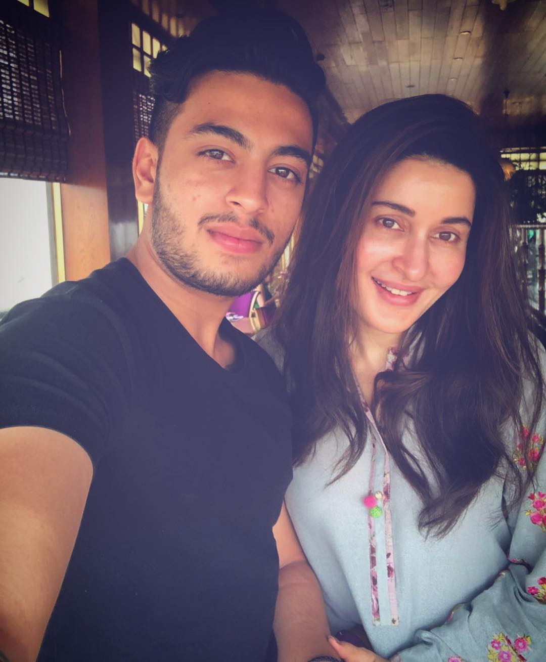 Shaista Lodhi with Her Son Shafay - Latest Pictures