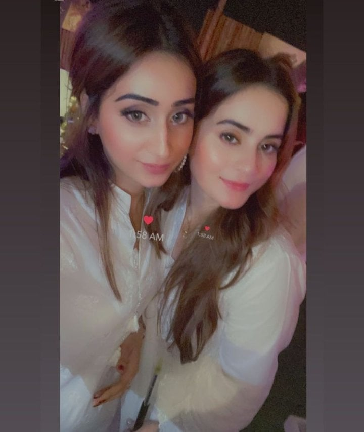 Aiman Khan And Muneeb Butt Spotted At Game Night By Saqib Sheikh