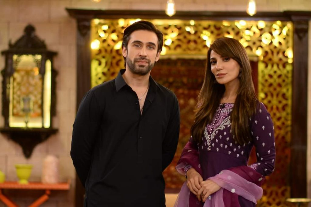 Ali Rehman Khan And Navin Waqar Pictures From GMP Shan-e-Suhoor