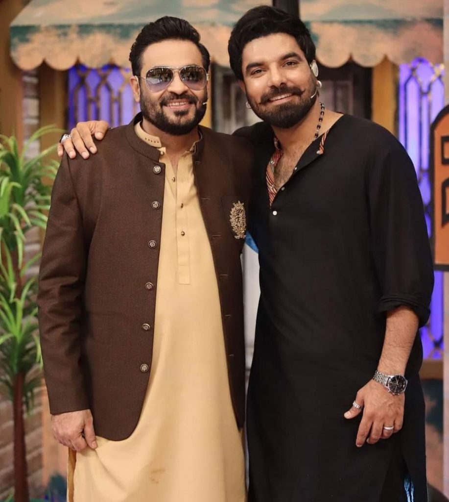 Yasir Hussain And Amar Khan Pictures From Jeeeway Pakistan