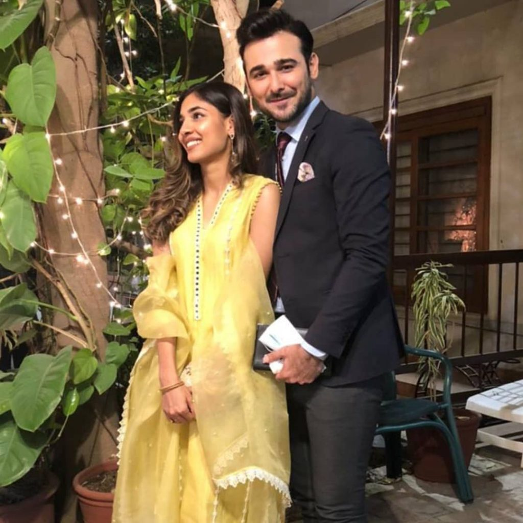 Sanam Jung's Sister Amna Jung Family Pictures