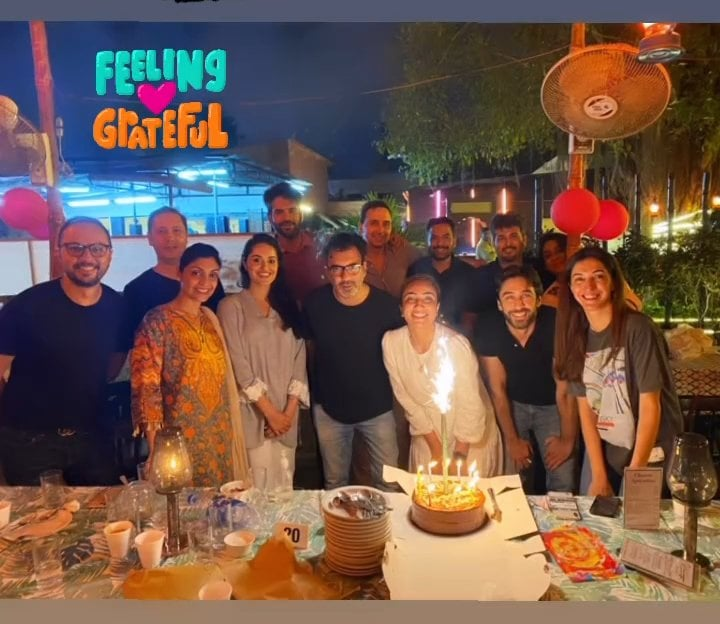Anoushey Ashraf Celebrated Her Birthday With Close Friends