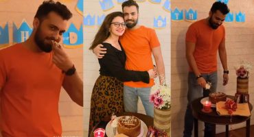 Asad Siddiqui Celebrated Birthday With Wife Zara Noor Abbas