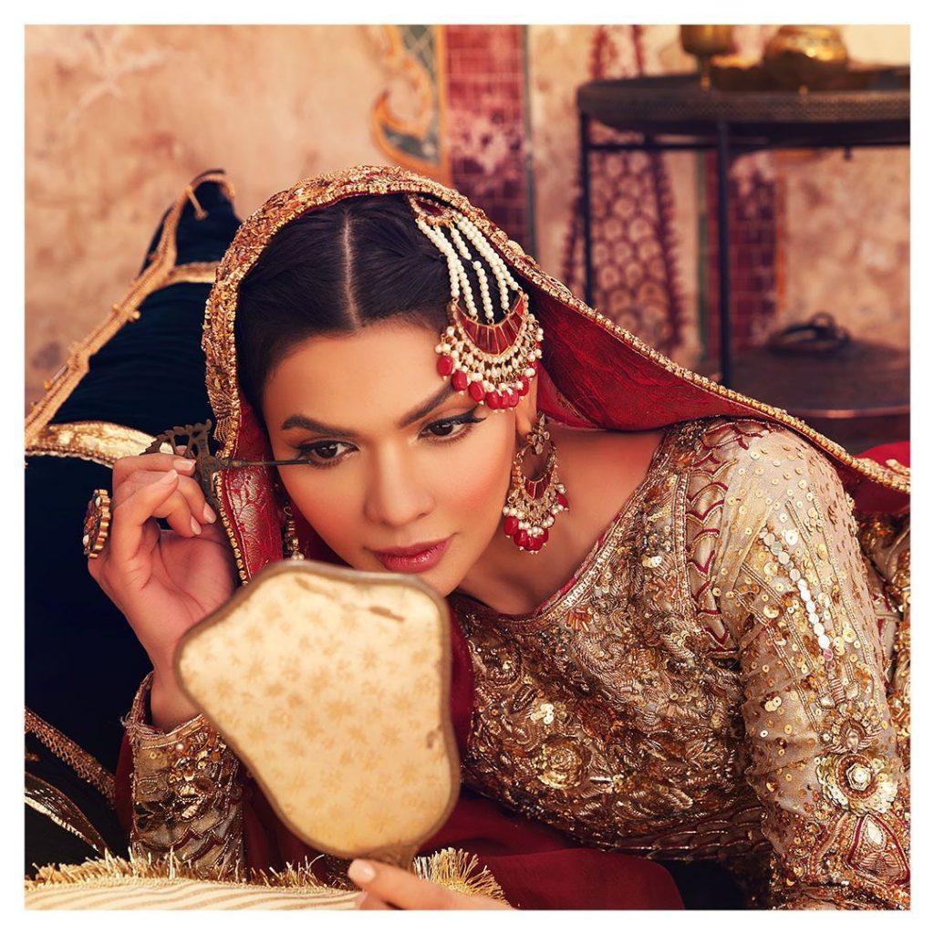 Asma Aslam Bridal Collection 2021 Featuring Sara Loren