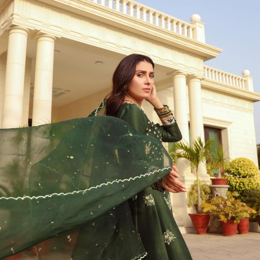 "Ayeza Khan Featured In ""Tehwar"" By Ansab Jahangir"