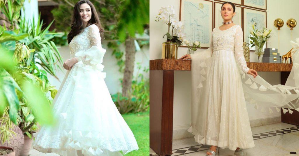 Ayeza Khan Or Sana Javed, Who Wore It Better?