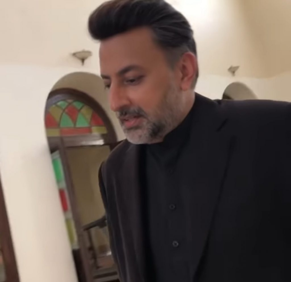 Babar Ali Showing His Singing Skills In The Recent Video