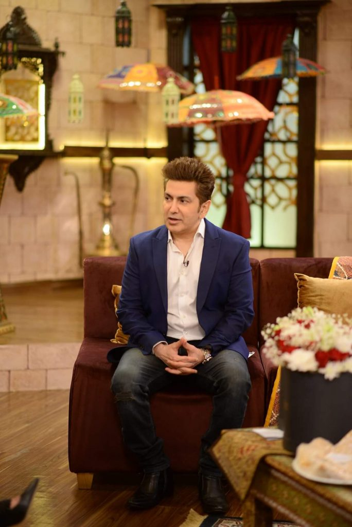 Fakhir and Shaista Lodhi Pictures From GMP Shan-e-Suhoor