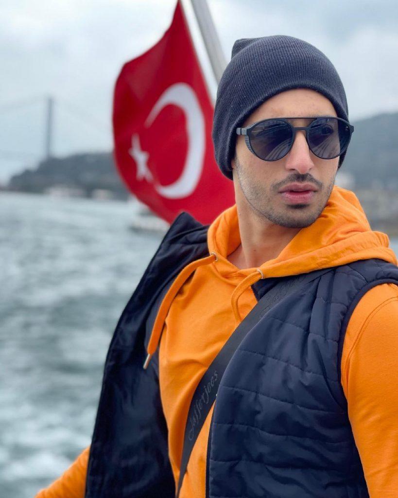 Actor Farhan Malhi Vacationing In Turkey