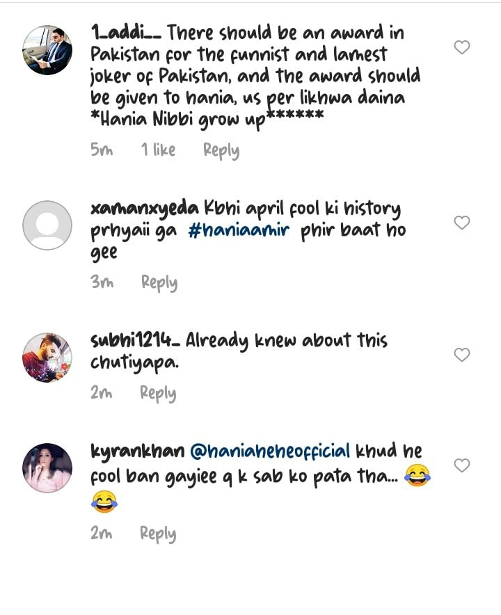 Here Is How Hania Aamir Pranked Her Fans