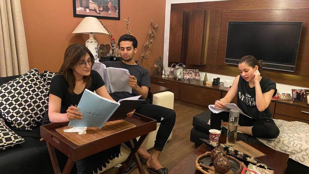 Hania Aamir And Momin Saqib Pair Up For An Upcoming Project