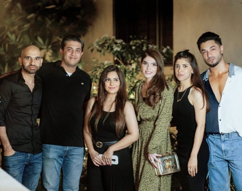 Celebrities Spotted At Hasan Rizvi's Birthday Bash