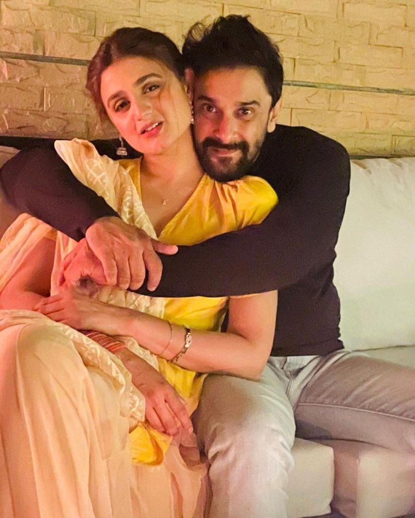 Celebrities Wish Hira And Mani On Their Wedding Anniversary