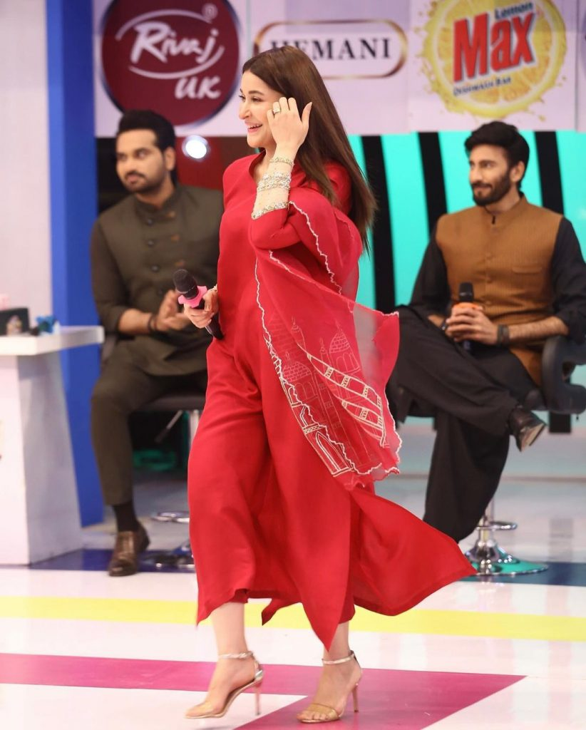Shaista Lodhi Beautiful Pictures From Jeeto Pakistan