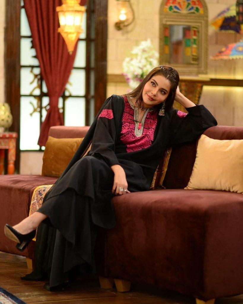 Nida Yasir Beautiful Looks From GMP Shaan-e-Suhoor