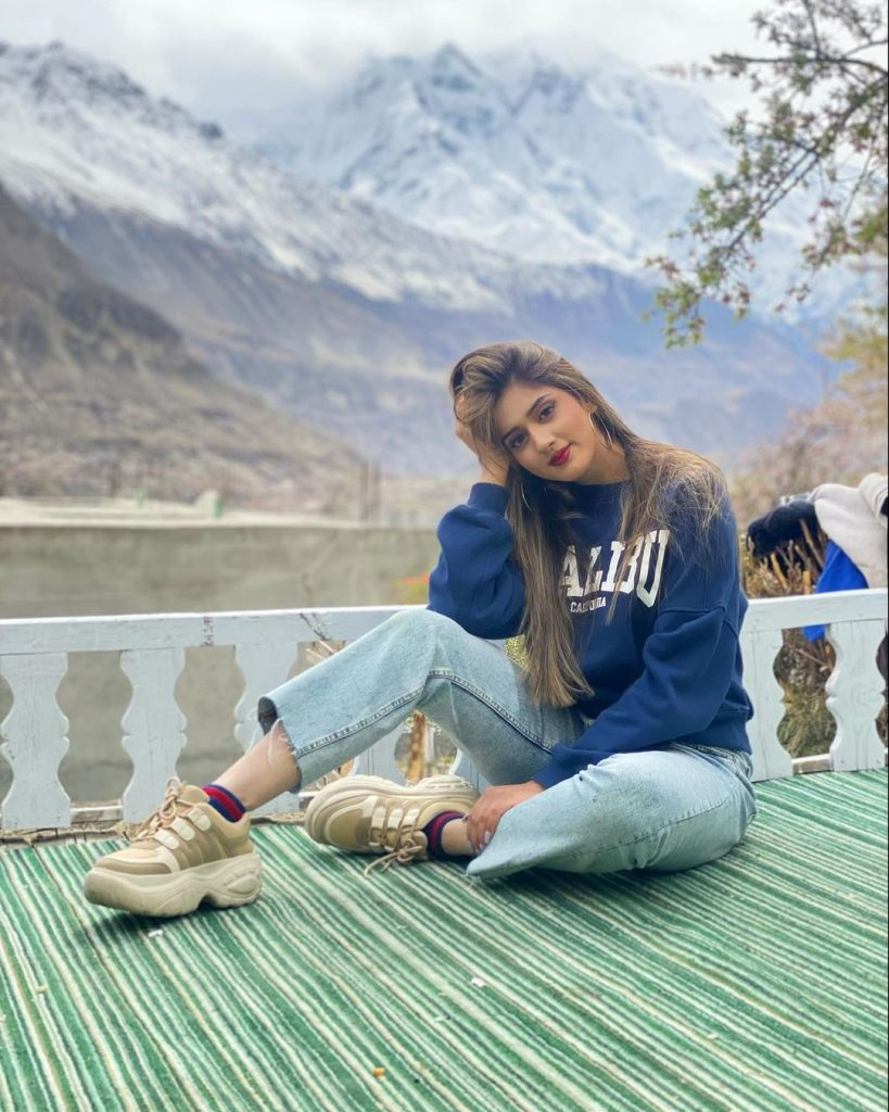 Jannat Mirza Vacationing In Northern Pakistan