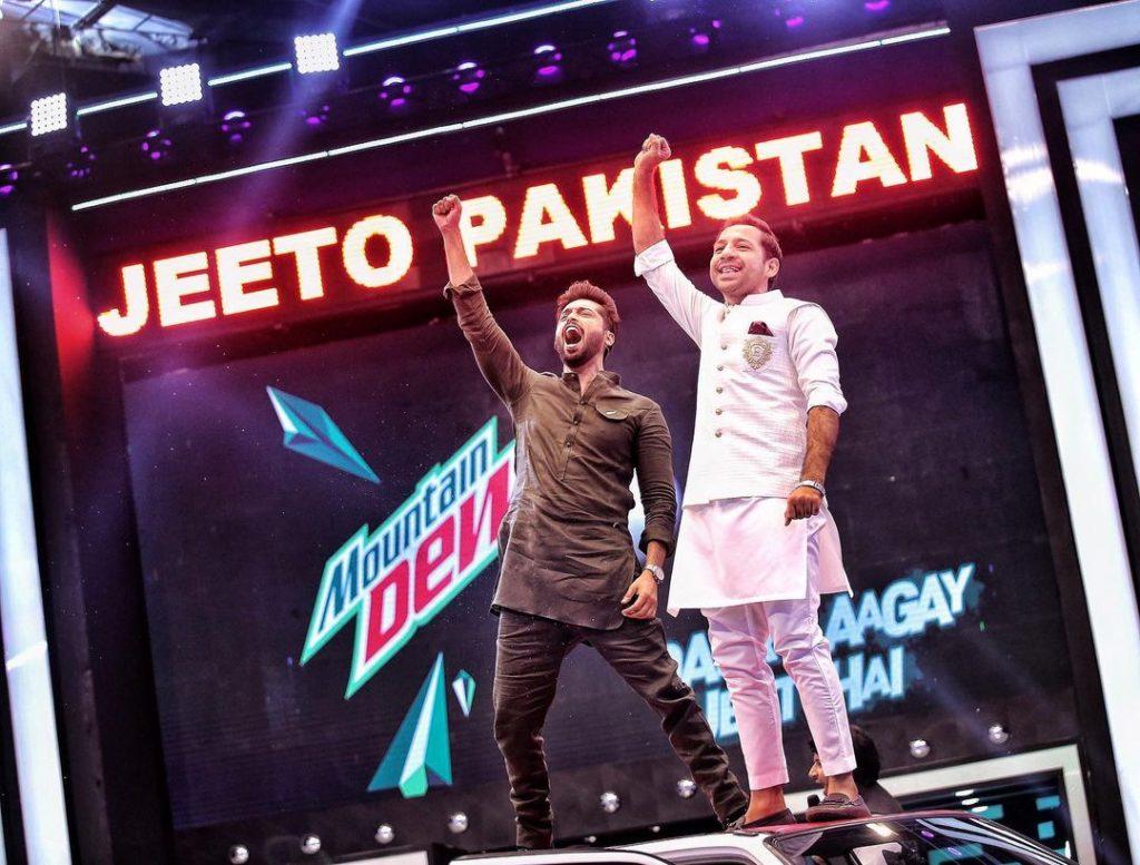 Fahad Mustafa Reveals The Sixth Team Of Jeeto Pakistan League