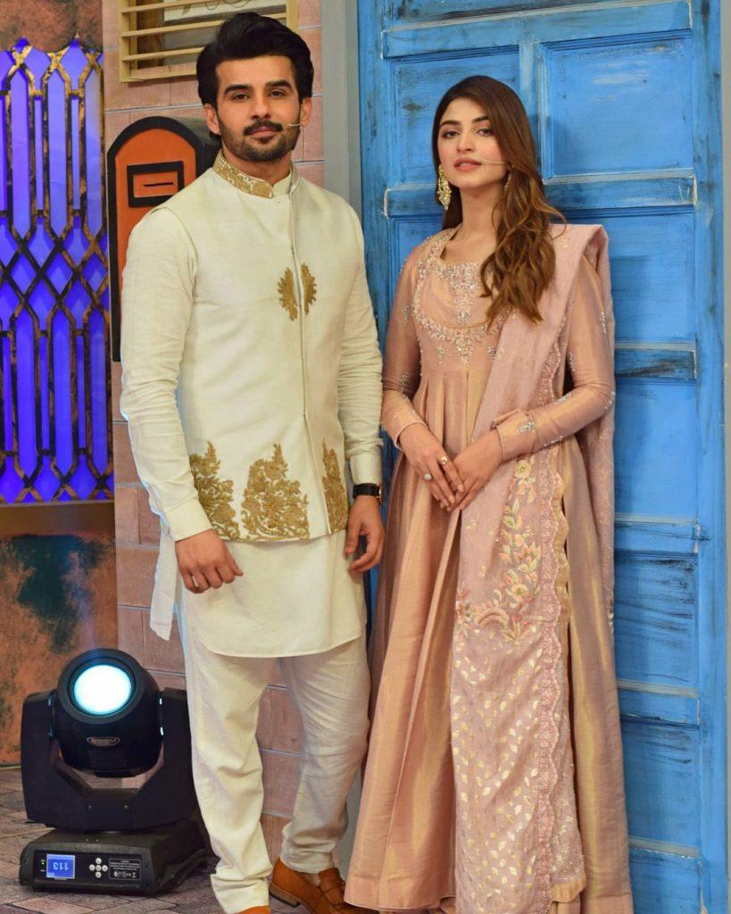 Kinza Hashmi And Fahad Sheikh Spotted Together At Jeeway Pakistan