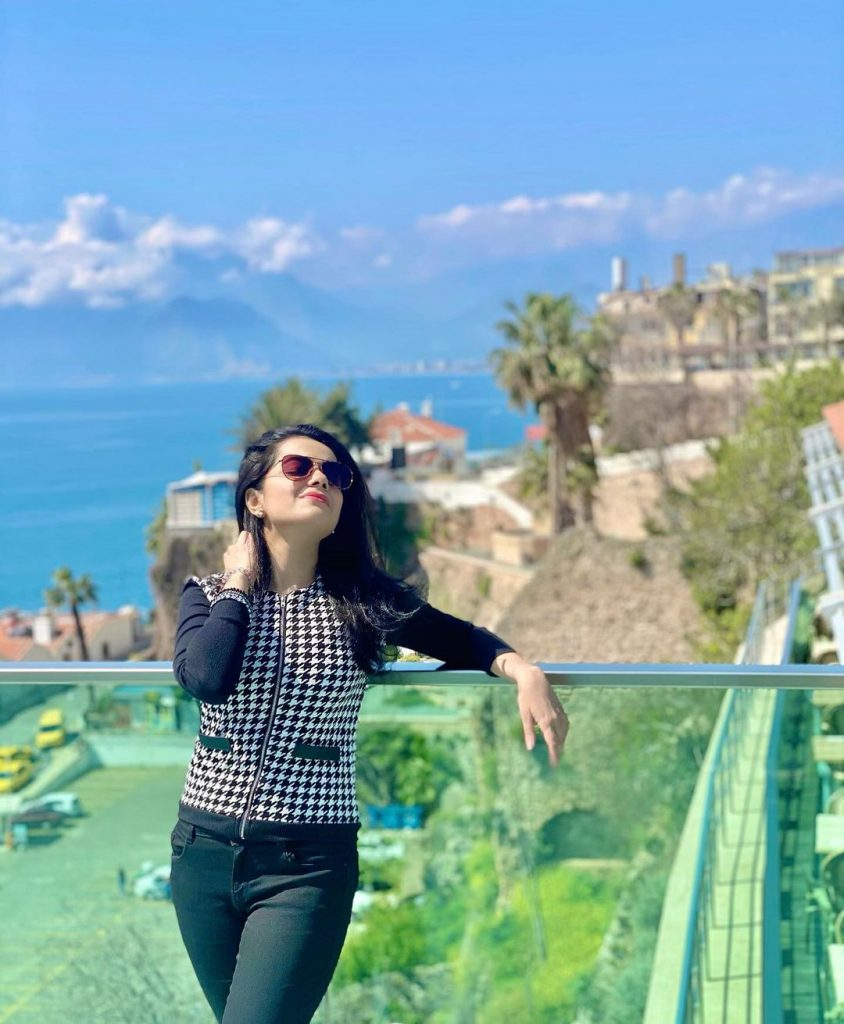 Sumbul And Kompal Iqbal Vacationing In Turkey
