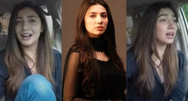 Mahira Khan Jamming On Hamsafar's OST
