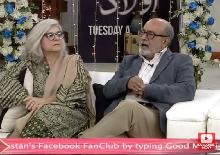 "Marina khan And Muhammad Ahmed Talk About Shooting Romantic Scenes In ""Aulaad"""