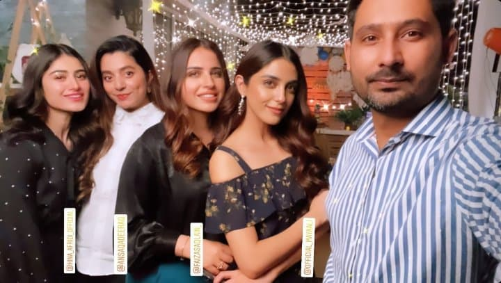 Maya Ali Spotted At Faiza Saqlain's Son's Birthday