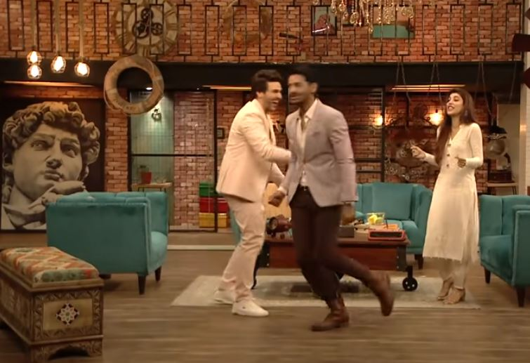 Mohib Mirza and Urwa Hocane Dance Performance At Time Out With Ahsan Khan Show