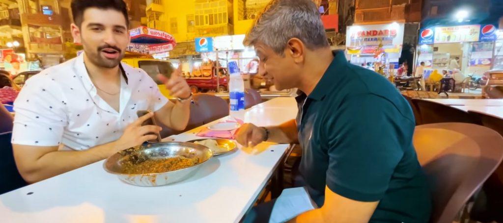 Muneeb Butt Explored Karachi Street Food With Chef Saadat Siddiqui