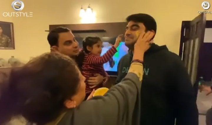 Unseen Wedding Festivities Of Nadia Khan