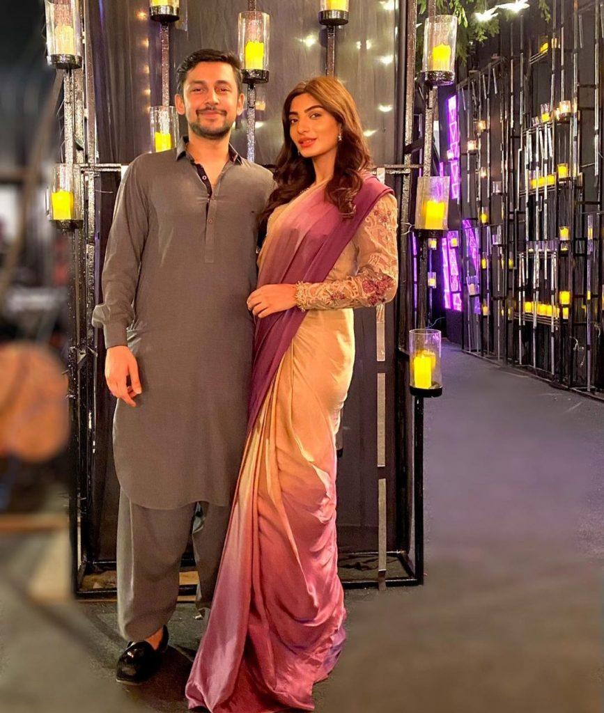 Maryam Ansari Beautiful Pictures With Husband Owais Khan