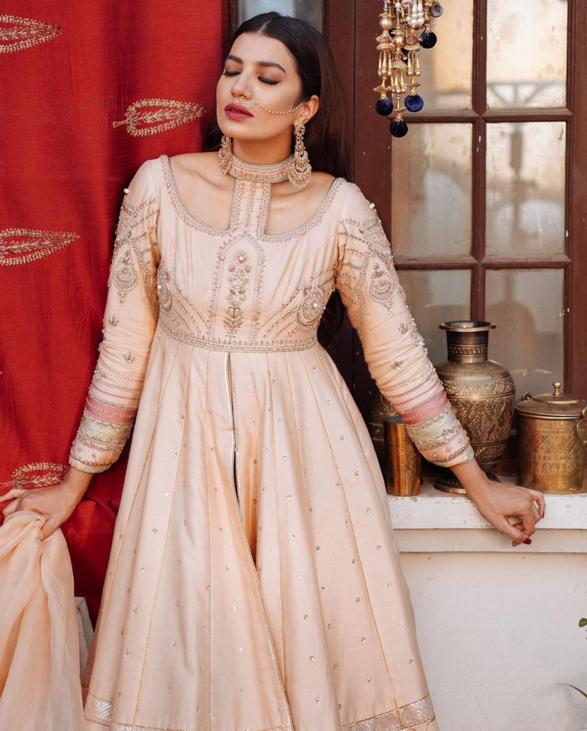 Mohsin Naveed Ranjha's Latest Eid Collection Featuring Rabia Butt