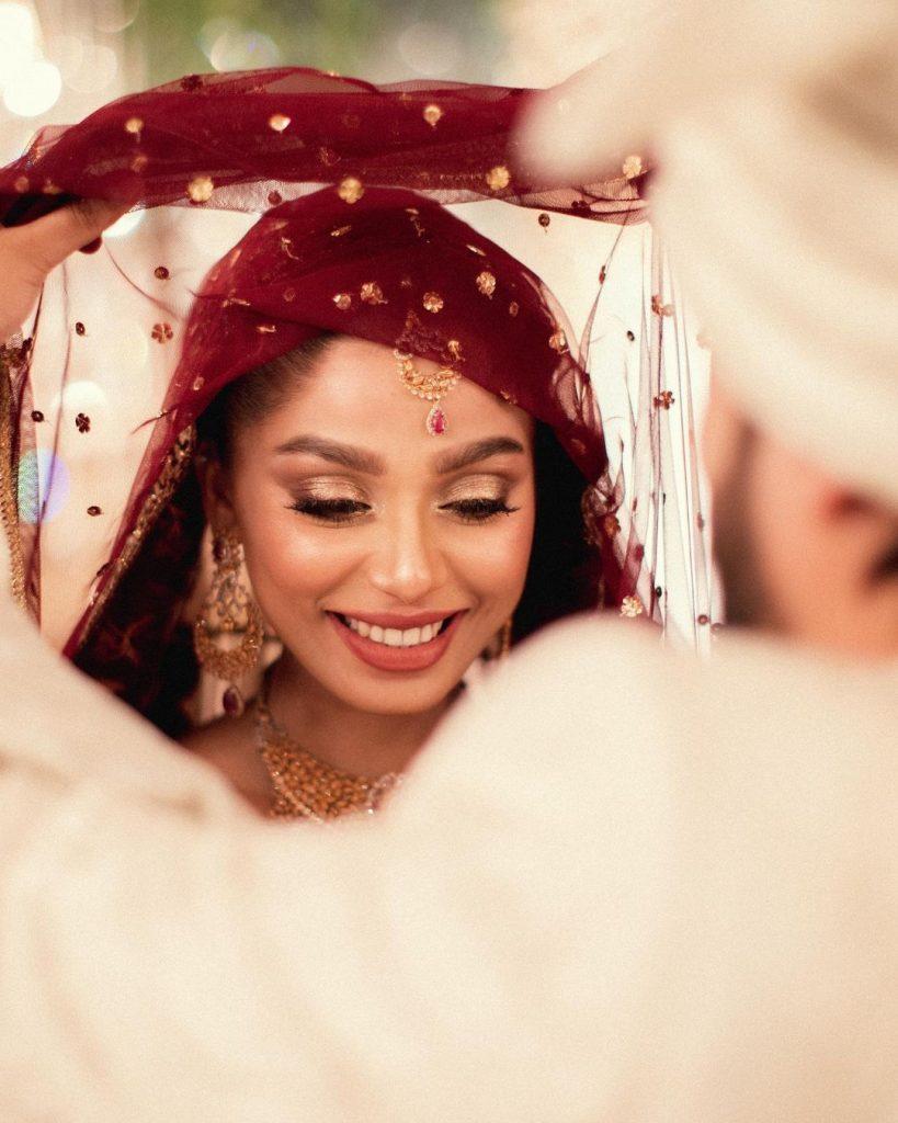 Unseen Nikkah Pictures Of Actress Ramsha Salahuddin
