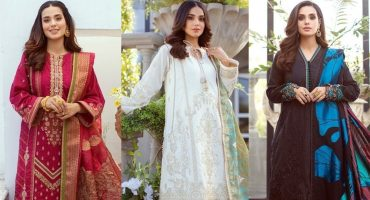 Rang Rasiya Premium Lawn Collection Featuring Iqra Aziz