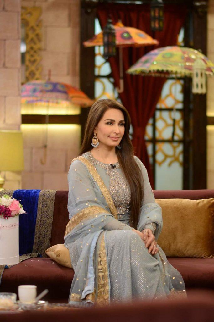 Reema Khan & Sohail Ahmad Pictures From GMP Shan-e-Suhoor