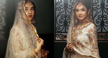 RJ's Pret Bridal Shoot Featuring Yumna Zaidi